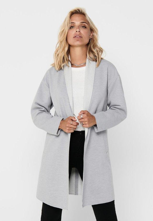 ONLNEVE CARA COATIGAN - Blazer - light grey melange