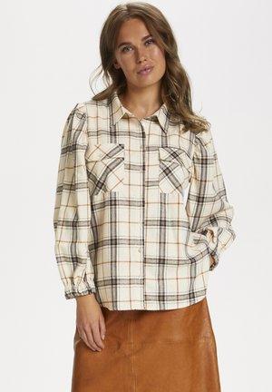 EVONY - Button-down blouse - creme