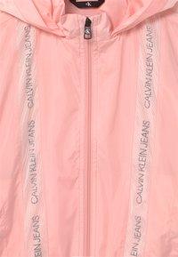 Calvin Klein Jeans - INSERT LOGO  - Light jacket - pink - 2