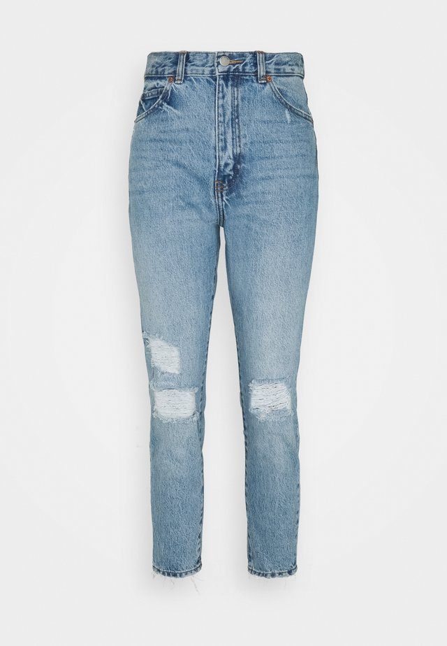 NORA - Jeans baggy - blue jay