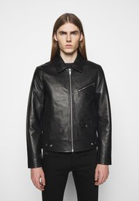 The Kooples - BIKER JACKET - Leather jacket - black - 0