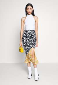 Even&Odd Tall - 2 PACK - Top - off-white/black - 1
