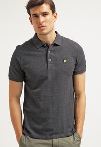 Lyle & Scott - Piké - charcoal marl - 0