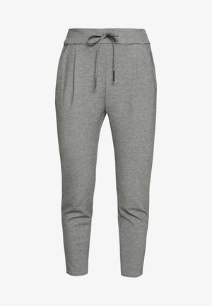 VMEVA LOOSE STRING PANTS - Trousers - medium grey melange