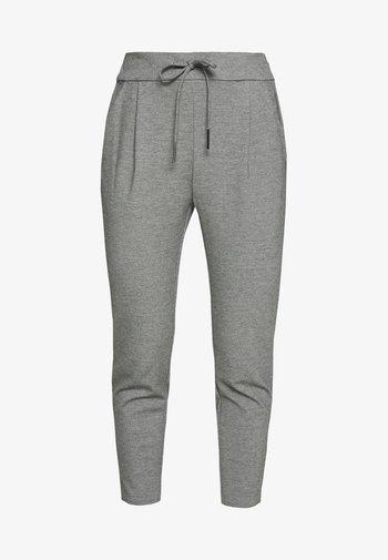 VMEVA LOOSE STRING PANTS - Trousers - medium grey melange