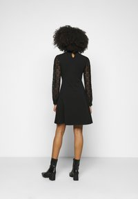 ONLY Petite - ONLMILLE LIFE MIX DRESS - Jersey dress - black - 2