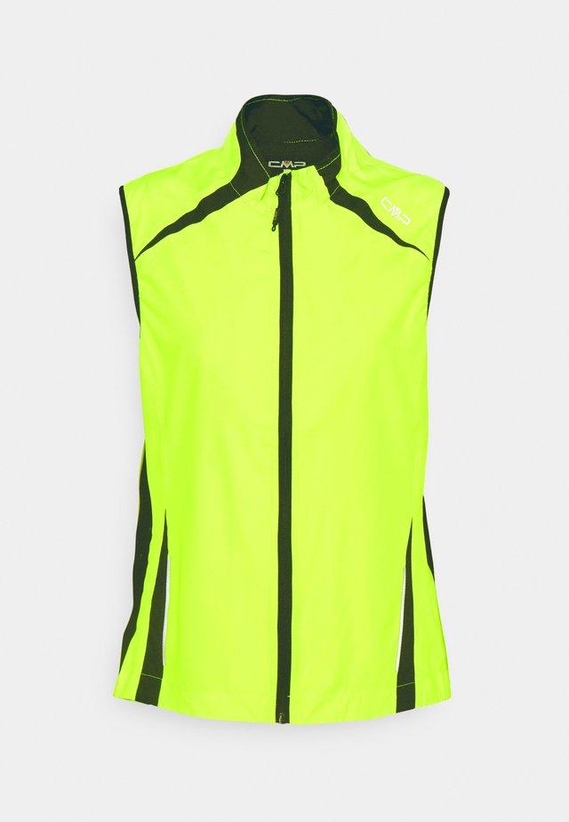 WOMAN VEST - Vest - yellow