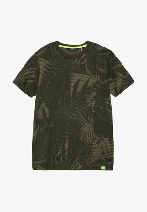 ISAAC - Print T-shirt - green
