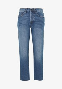 JDY - TUBA LIFE GIRLFRIEND CROPPED - Jean boyfriend - medium blue denim - 0