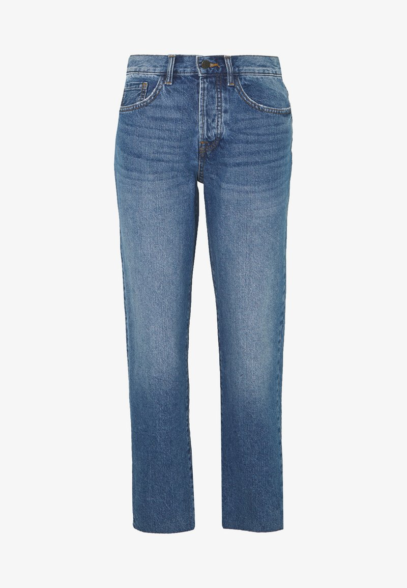 JDY - TUBA LIFE GIRLFRIEND CROPPED - Jean boyfriend - medium blue denim