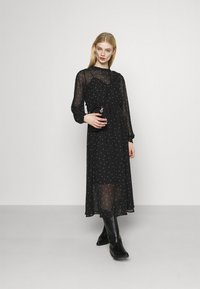 ONLY - ONLTRACY MIDI DRESS  - Denní šaty - black - 1