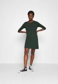 ONLY - ONLBRILLIANT DRESS  - Jersey dress - pine grove - 1