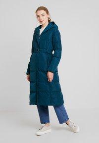 Anna Field - Trench - teal - 1