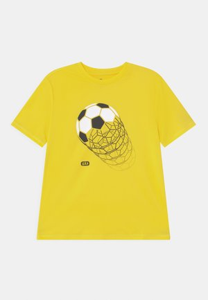 BOY GRAPHICS - Print T-shirt - bright lemon meringue
