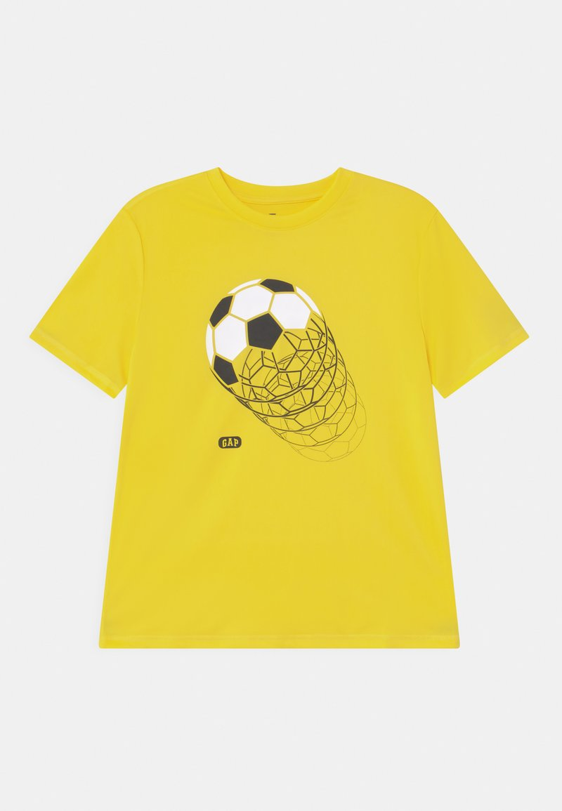 GAP - BOY GRAPHICS - Print T-shirt - bright lemon meringue