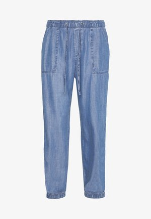 STRAIGHT - Trousers - blue medium