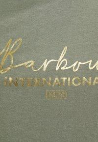 Barbour International - GRID TEE - Print T-shirt - army green - 2