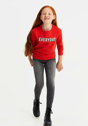 MET 3D EMBROIDERY - Sweatshirts - bright red