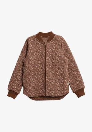 THERMO - Fleece jacket - nutella flowers