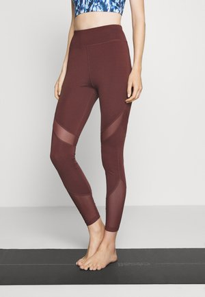Legging - dark brown