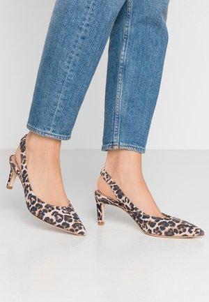 ENNY - Classic heels - nude