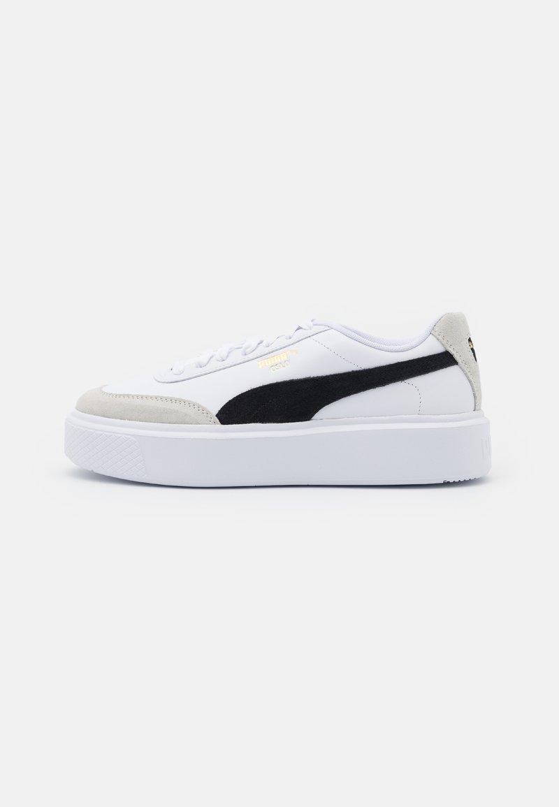 Puma - OSLO MAJA ARCHIVE - Sneakersy niskie - white/black