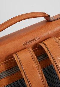 Strellson - HYDE PARK BACKPACK - Reppu - cognac - 4