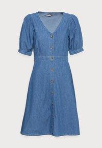 Anna Field - CHAMBREAY SHIRT DRESS - Robe en jean - light blue - 3