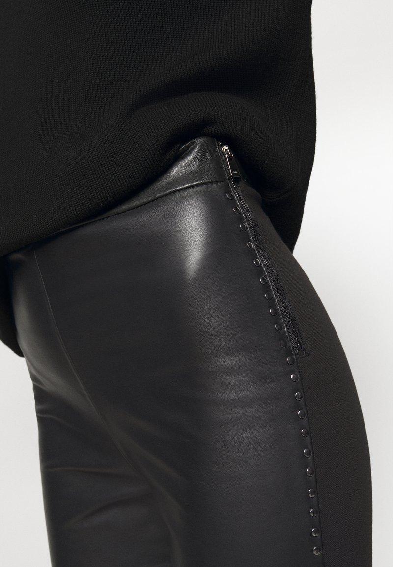 Pinko FLAVIO TROUSERS - Leggings - Hosen - black/schwarz snSstZ