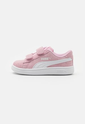 SMASH UNISEX - Sneakers laag - pink lady/white