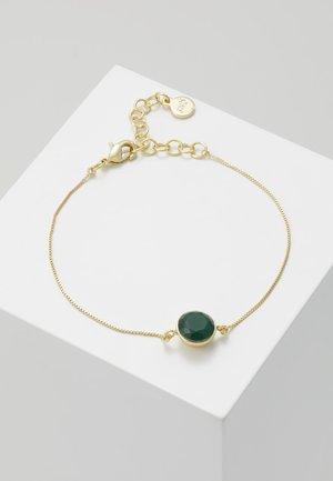 LIW SMALL BRACE - Bracelet - gold-coloured/green