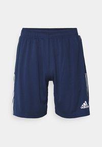 adidas Performance - TIRO 21  - Krótkie spodenki sportowe - navy blue - 0