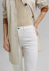 Esprit - Straight leg jeans - white - 5