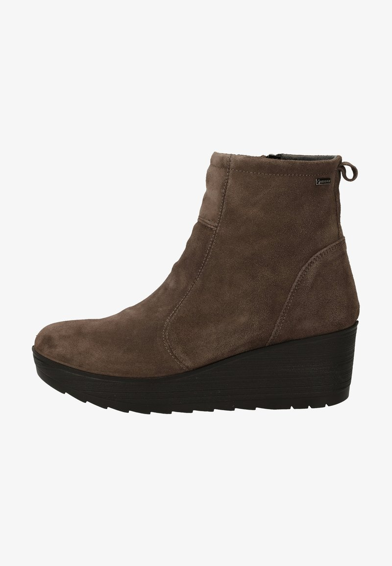 IGI&CO - Wedge Ankle Boots - grig.scuro