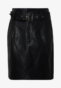 ONLKIERA SKIRT - Minifalda - black