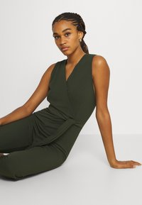 WAL G. - EVIE WRAP AROUND - Jumpsuit - khaki green - 3