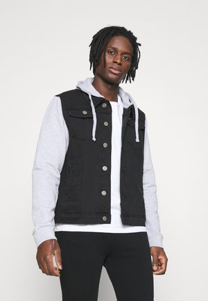 Denim jacket - black/grey