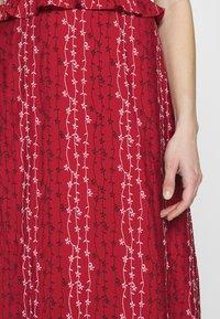 Stevie May - GRACIE MIDI DRESS - Day dress - red - 6