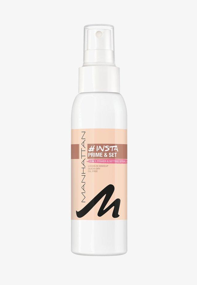 INSTA PRIME & SET SPRAY - Spray fixant & poudre - transparent