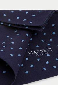 Hackett London - TOSSED BOWLER - Scarf - navy - 1