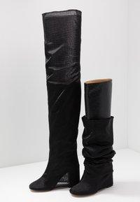 MM6 Maison Margiela - Bottes à talons hauts - black - 7