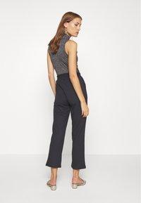 Lounge Nine - SELMA PANTS - Trousers - pitch black - 2