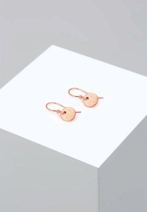 GEO RUND  - Earrings - rose