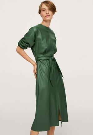 Day dress - bosgroen