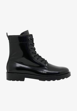 D-THROUPER DBB - Lace-up ankle boots - black