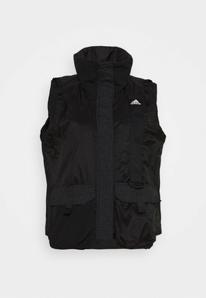 UTILITAS VEST - Waistcoat - black
