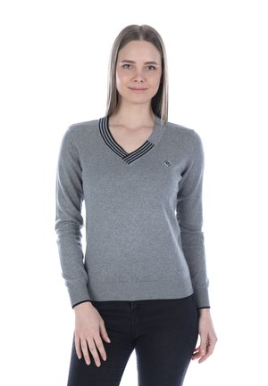 Jumper - grey black
