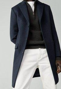 Mango - MICHIGAN-I - Classic coat - bleu - 4