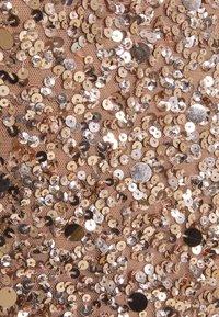 Lace & Beads Tall - PICASSO - Společenské šaty - mocha - 5