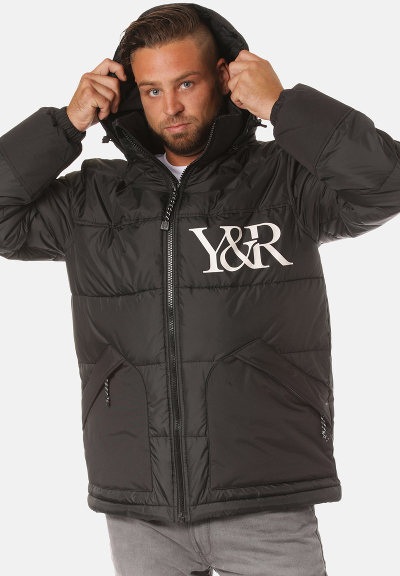 Young and Reckless - PUFF - Winter jacket - black